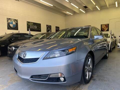 2012 Acura TL for sale at GCR MOTORSPORTS in Hollywood FL