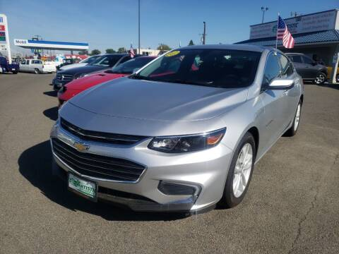 2018 Chevrolet Malibu for sale at Artistic Auto Group, LLC in Kennewick WA