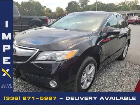 2015 Acura RDX for sale at Impex Auto Sales in Greensboro NC