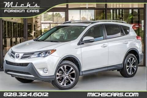 2015 Toyota RAV4 for sale at Mich's Foreign Cars in Hickory NC