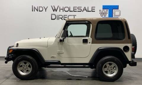 2002 Jeep Wrangler for sale at Indy Wholesale Direct in Carmel IN