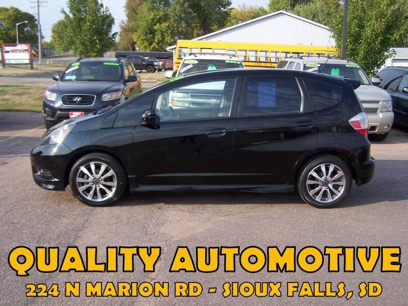 2012 Honda Fit for sale at Quality Automotive in Sioux Falls SD