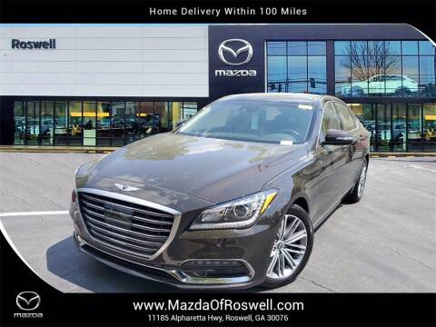 2018 Genesis G80 for sale at Mazda Of Roswell in Roswell GA