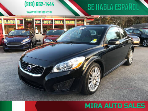 2012 Volvo C30 for sale at Mira Auto Sales in Raleigh NC