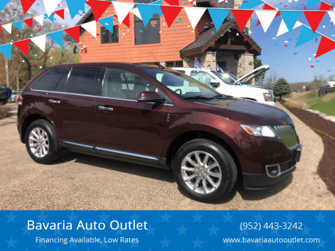 2012 Lincoln MKX for sale at Bavaria Auto Outlet in Victoria MN