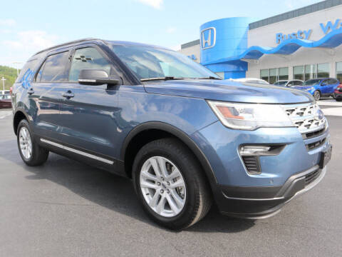 2019 Ford Explorer for sale at RUSTY WALLACE HONDA in Knoxville TN