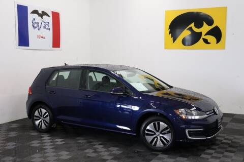 2019 Volkswagen e-Golf for sale at Carousel Auto Group in Iowa City IA