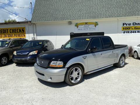 2003 Ford F-150 for sale at Klett Automotive Group in Saint Augustine FL