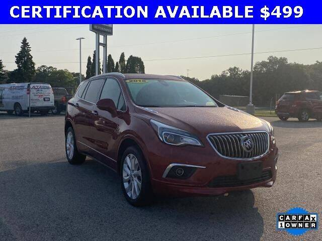 2018 Buick Envision for sale at Betten Baker Preowned Center in Twin Lake MI