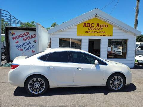 2015 Buick Verano for sale at ABC AUTO CLINIC in Chubbuck ID