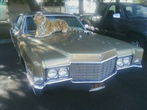 1969 Cadillac DeVille for sale at Haggle Me Classics in Hobart IN