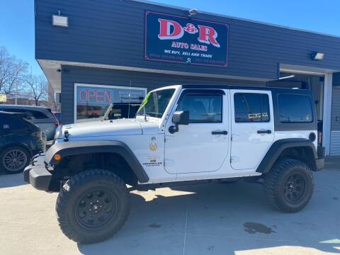 2013 Jeep Wrangler Unlimited for sale at D & R Auto Sales in South Sioux City NE