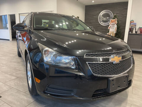 2012 Chevrolet Cruze for sale at Evolution Autos in Whiteland IN