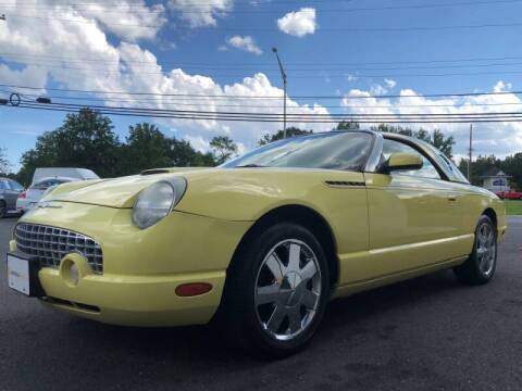2002 Ford Thunderbird for sale at Vantage Auto Group Tinton Falls in Tinton Falls NJ