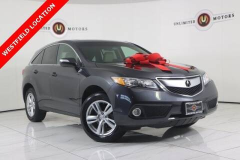2013 Acura RDX for sale at INDY'S UNLIMITED MOTORS - UNLIMITED MOTORS in Westfield IN