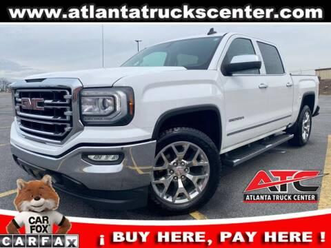 2016 GMC Sierra 1500 for sale at ATLANTA TRUCK CENTER LLC in Brookhaven GA