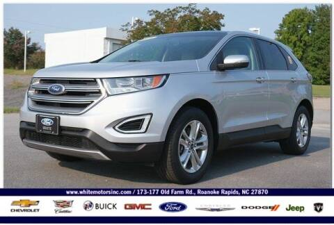 2016 Ford Edge for sale at WHITE MOTORS INC in Roanoke Rapids NC