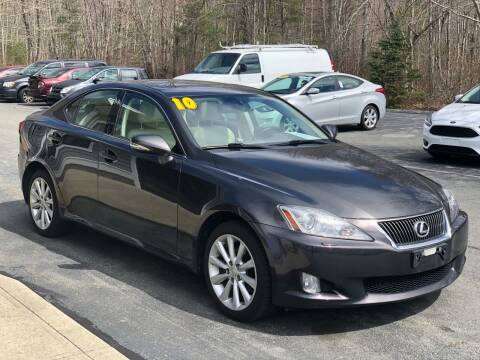 2010 Lexus IS 250 for sale at Elite Auto Sales in North Dartmouth MA