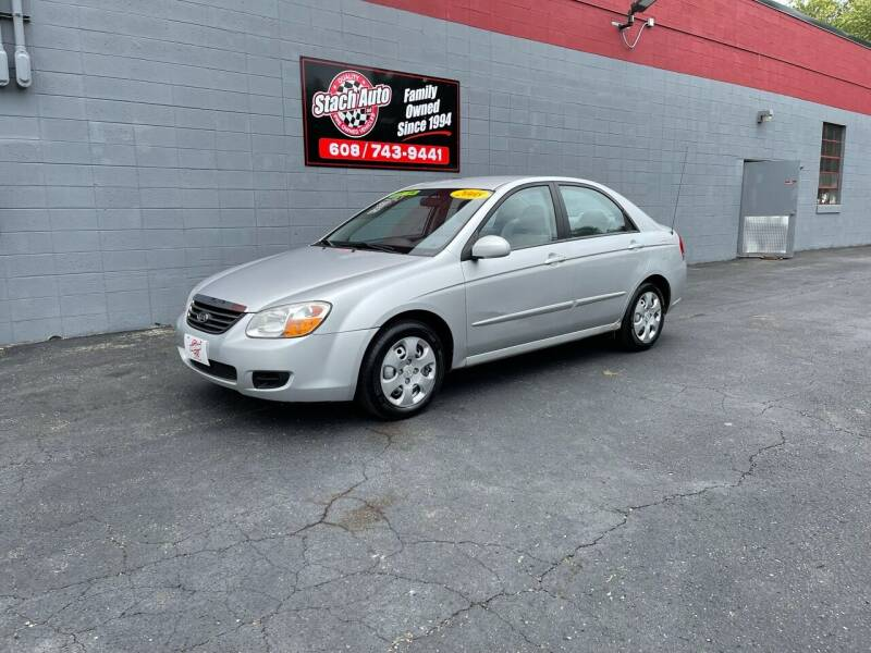 2008 Kia Spectra for sale at Stach Auto in Janesville WI