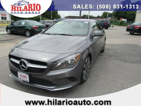 2018 Mercedes-Benz CLA for sale at Hilario's Auto Sales in Worcester MA