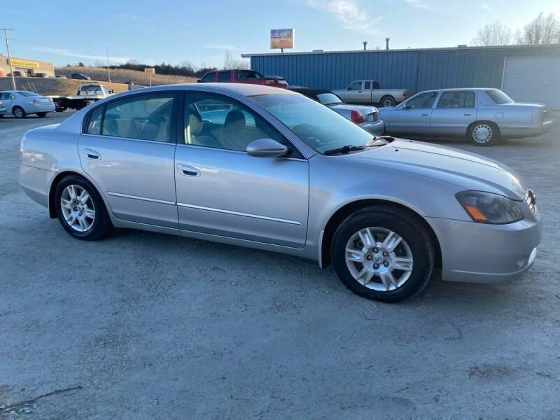 2006 Nissan Altima for sale at Kansas Car Finder in Valley Falls KS