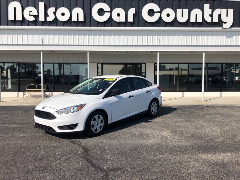 2015 Ford Focus for sale at Nelson Car Country in Bixby OK