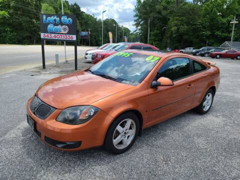 2007 Pontiac G5 for sale at Let's Go Auto in Florence SC