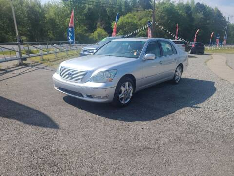 2004 Lexus LS 430 for sale at TR MOTORS in Gastonia NC