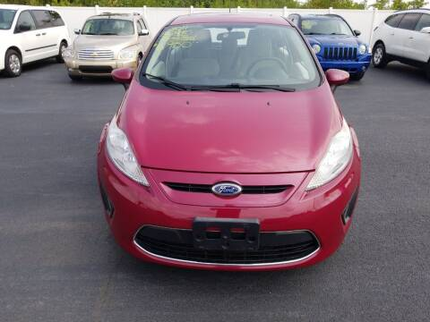2011 Ford Fiesta for sale at Caps Cars Of Taylorville in Taylorville IL