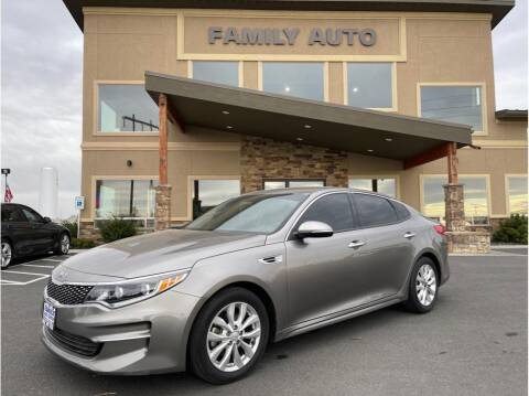 2016 Kia Optima for sale at Moses Lake Family Auto Center in Moses Lake WA