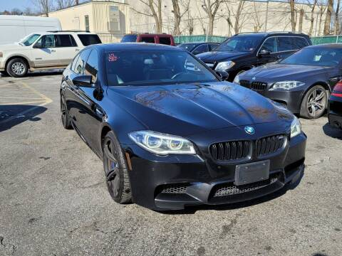 2014 BMW M5 for sale at AW Auto & Truck Wholesalers  Inc. in Hasbrouck Heights NJ
