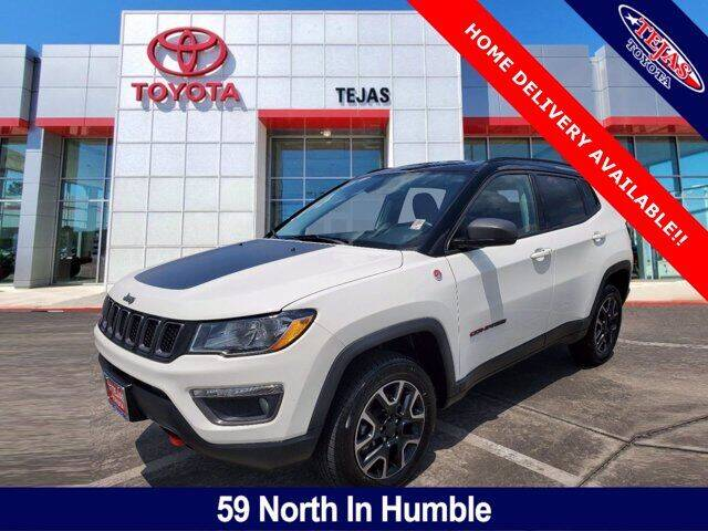2019 Jeep Compass for sale at TEJAS TOYOTA in Humble TX