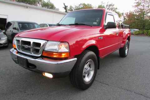 2000 Ford Ranger for sale at Purcellville Motors in Purcellville VA
