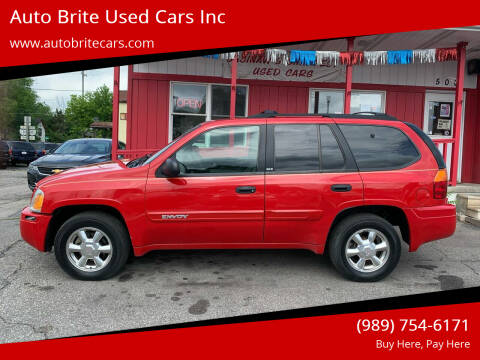 2002 GMC Envoy for sale at Auto Brite Used Cars Inc in Saginaw MI