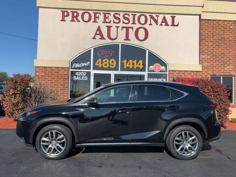 2016 Lexus NX 200t for sale at Professional Auto Sales & Service in Fort Wayne IN