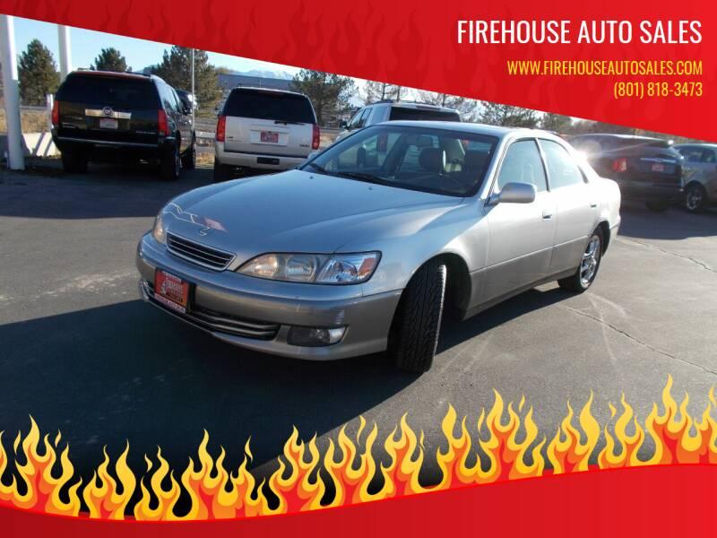 2001 Lexus ES 300 for sale at Firehouse Auto Sales in Springville UT