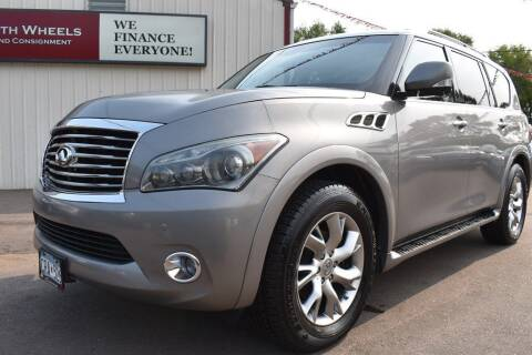 2011 Infiniti QX56 for sale at Dealswithwheels in Inver Grove Heights MN