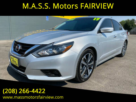 2017 Nissan Altima for sale at M.A.S.S. Motors - Fairview in Boise ID