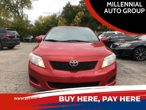 2010 Toyota Corolla for sale at MILLENNIAL AUTO GROUP in Farmington Hills MI