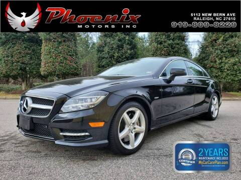 2012 Mercedes-Benz CLS for sale at Phoenix Motors Inc in Raleigh NC