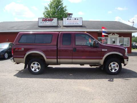 2006 Ford F-250 Super Duty for sale at G and G AUTO SALES in Merrill WI