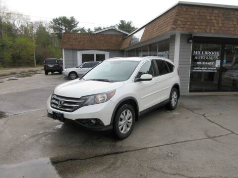 2014 Honda CR-V for sale at Millbrook Auto Sales in Duxbury MA