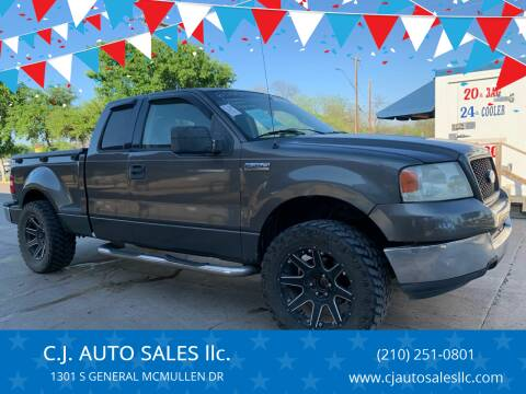 2004 Ford F-150 for sale at C.J. AUTO SALES llc. in San Antonio TX