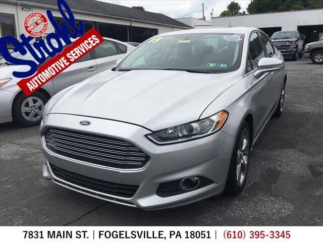 2013 Ford Fusion for sale at Strohl Automotive Services in Fogelsville PA