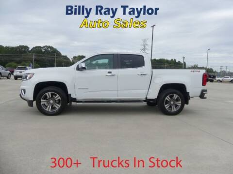 2018 Chevrolet Colorado for sale at Billy Ray Taylor Auto Sales in Cullman AL