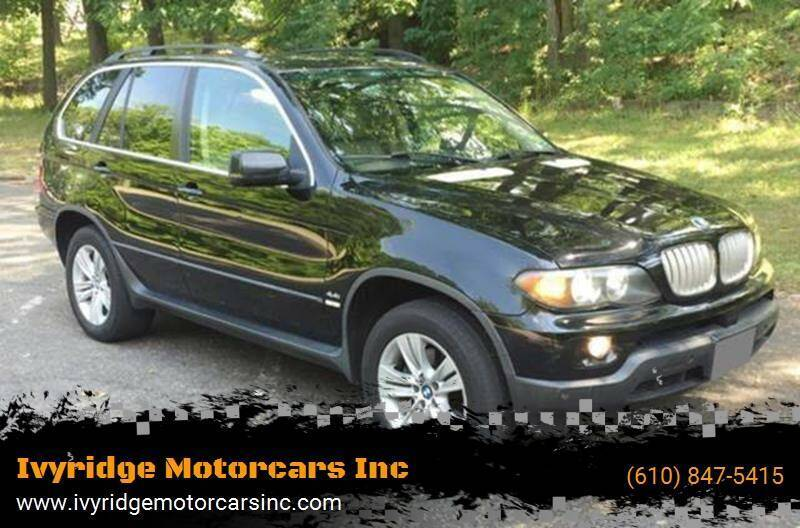 2005 BMW X5 for sale at Ivyridge Motorcars Inc in Ottsville PA