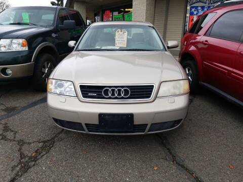 2001 Audi A6 for sale at 2 Way Auto Sales in Spokane Valley WA