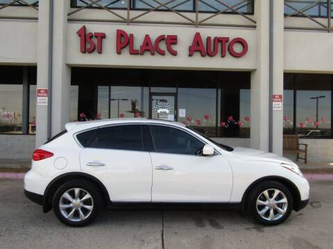 2008 Infiniti EX35 for sale at First Place Auto Ctr Inc in Watauga TX