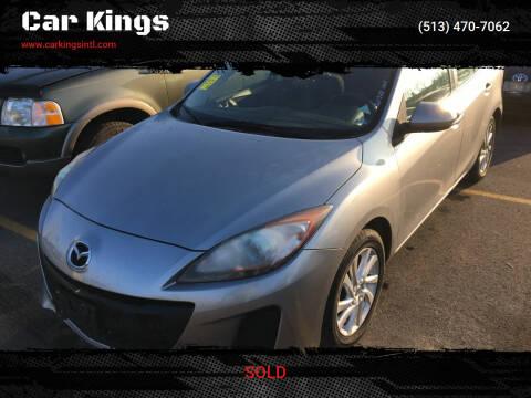 2012 Mazda MAZDA3 for sale at Car Kings in Cincinnati OH