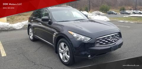 2011 Infiniti FX35 for sale at DDK Motors LLC in Rock Hill NY